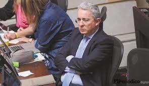 Uribe se retira del senado por investigación de la corte suprema de Colombia 1