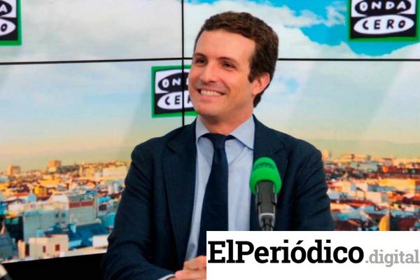 Pablo Casado, nuevo líder del PP, tendrá la tarea de comunicar al presidente del Congreso Pedro Sanchez, que su partido no apoyara la nueva extensión que se le quiere otorgar al déficit