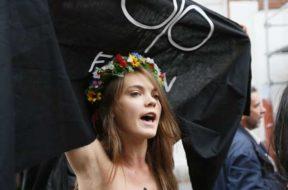 En París, se suicidó, uno de los fundadores del movimiento Femen (2)