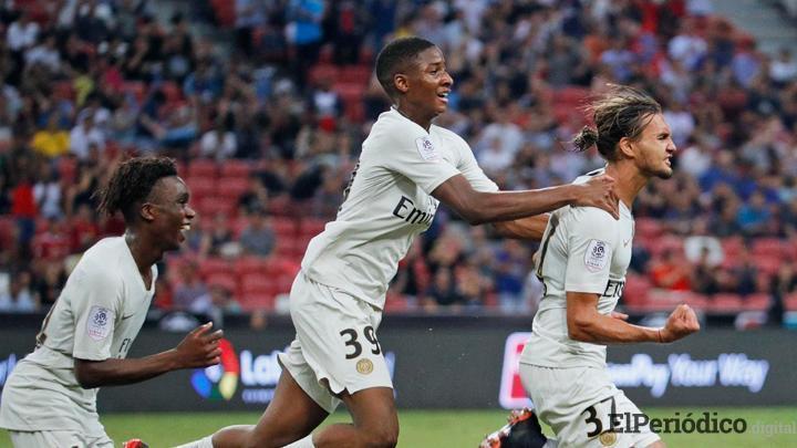 International Champions Cup / PSG derrota 3 a 2 al Atlético de Madrid