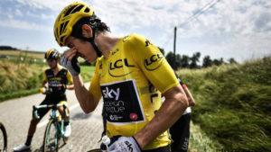 Protestas durante el Tour de Francia, en su 16ª etapa 1