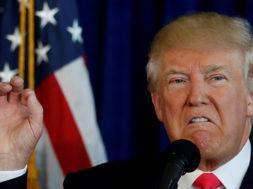 Trump advierte a Rohaní nunca jamás amenazar a EE.UU. si no quiere sufrir las consecuencias (1)