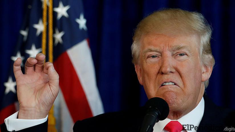Trump advierte a Rohaní nunca jamás amenazar a EE.UU. si no quiere sufrir las consecuencias