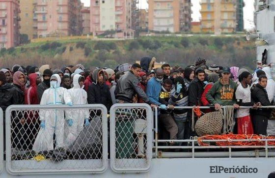 Gobierno de España ha pedido ayuda a las naciones unidas por la llegada de Inmigrantes en la ruta del Mediterráneo occidental.