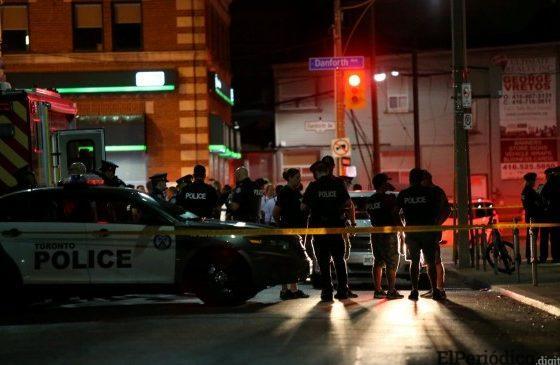 Por el momento se descarta la hipótesis de que el tiroteo en Toronto sea un acto terrorista