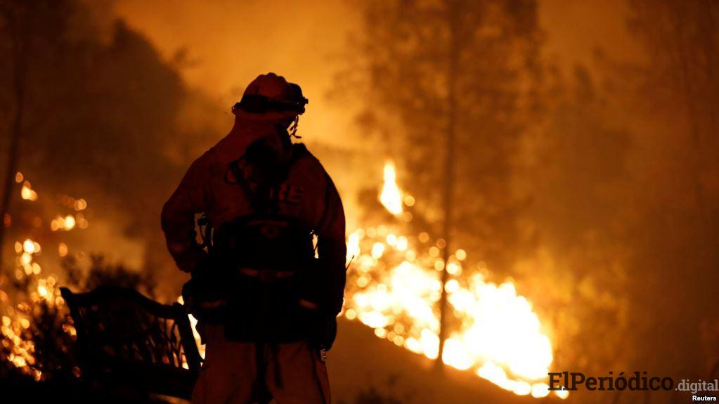Incendio en california deja 5 muertos