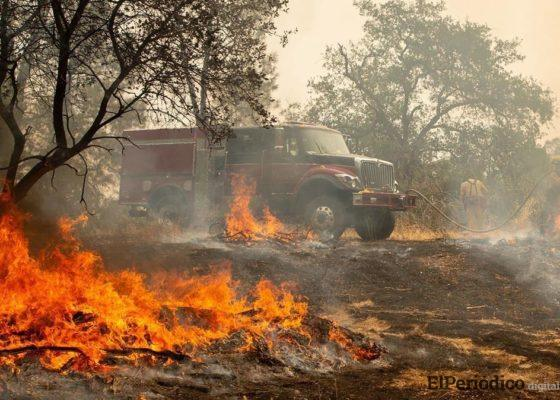 Este sábado el número de víctimas fallecidas en el incendio en california aumentaron a 5, entre los cuales se registraron dos menores de 4 y 5 años.