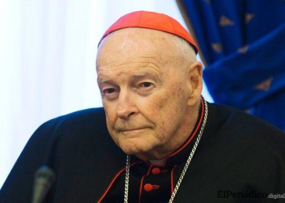 Arzobispo emérito de Washington Theodore McCarrick será recluido y apartado de sus funciones por orden del Papa Francisco