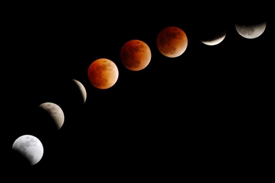 La Luna de Sangre con más prolongación del siglo XXI