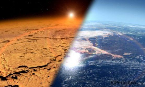 Descubren un lago bajo la capa de hielo de Marte 1
