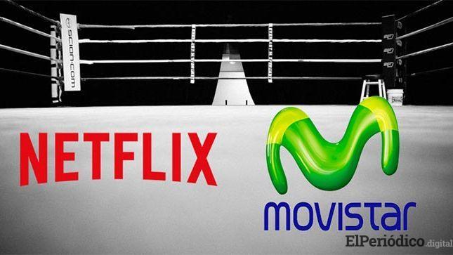 Netflix se une a movistar