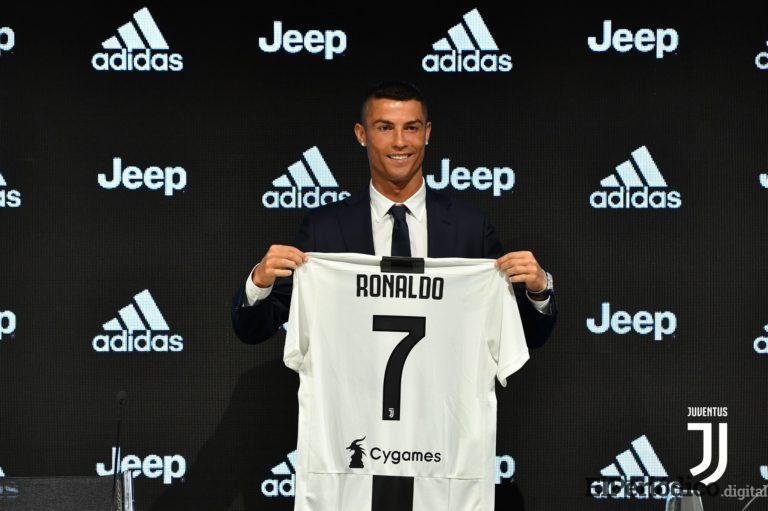 El primer partido de Cristiano Ronaldo en la Juve