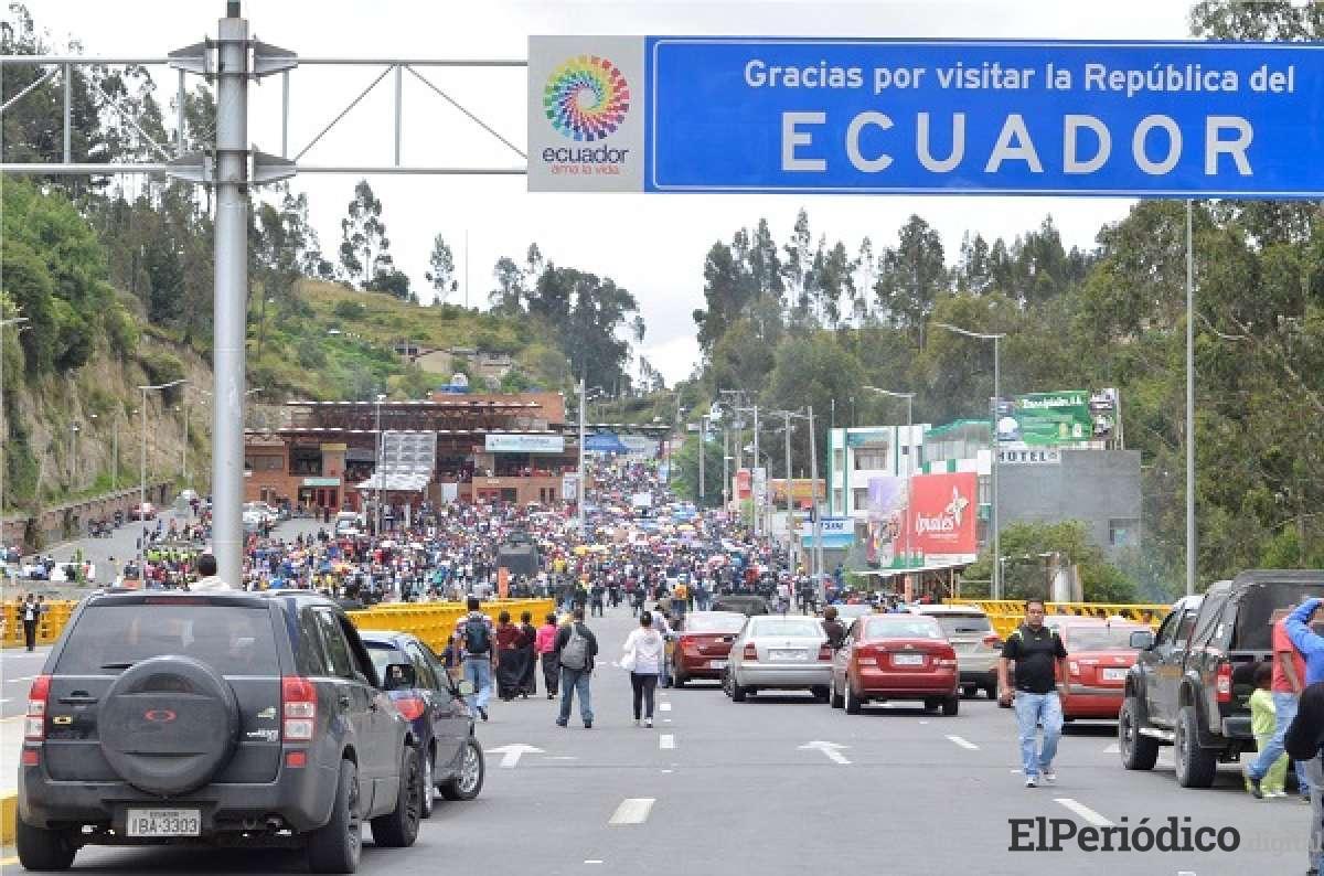 La cancillería de Ecuador declara emergencia migratoria por llegada masiva de venezolanos