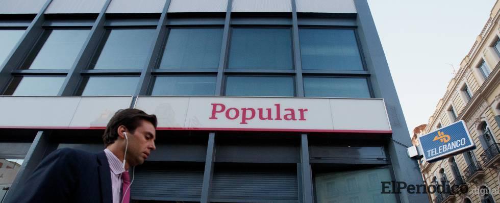 Los afectados por la resolución del Banco Popular no serán compensados