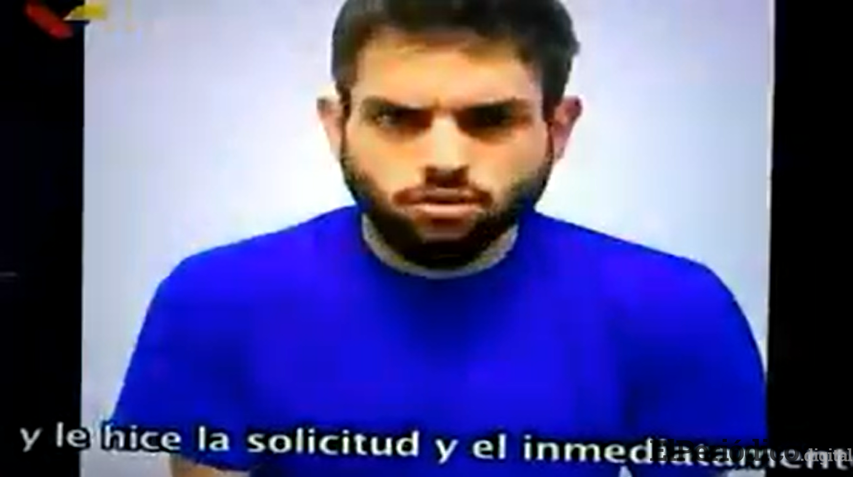 Gobierno venezolano revela video del diputado Juan Requesens tras 72 horas de su captura