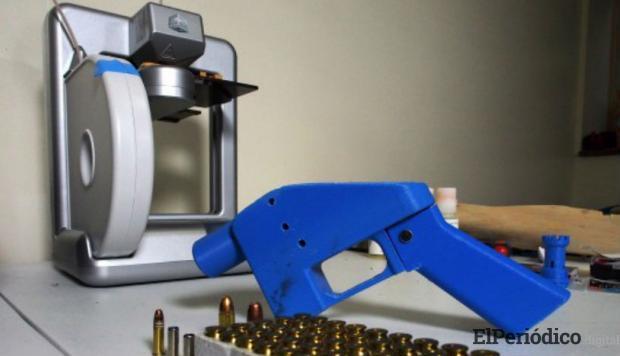 Facebook persigue los enlaces de archivos 3D de armas