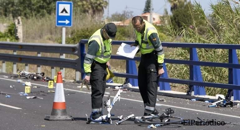Dos ciclistas murieron tras ser atropellados por conductor imprudente