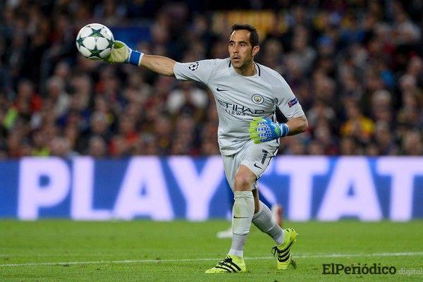 El Manchester City confirmó que el guardameta chileno Claudio Bravo sufrió una ruptura en el Tendón de Aquiles de su pierna izquierda