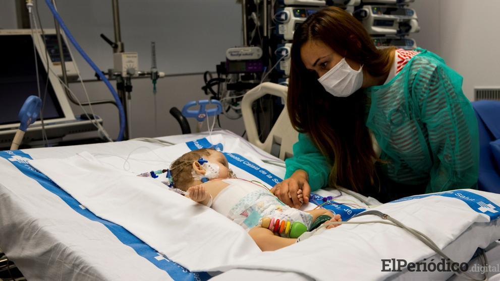 El hospital Vall d'Hebron logra salvar dos niñas con un mismo hígado