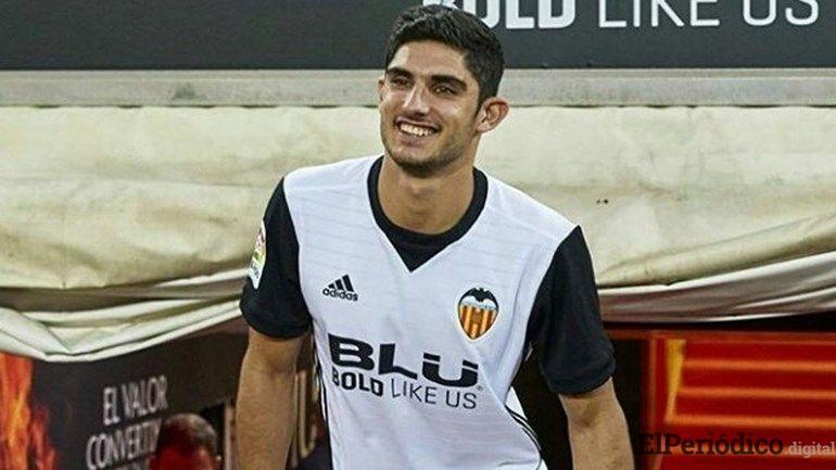 El pasado 28 de Agosto, Gonçalo Guedes arribó a España para firmar su contrato con el Valencia CF por las próximas cuatro temporadas