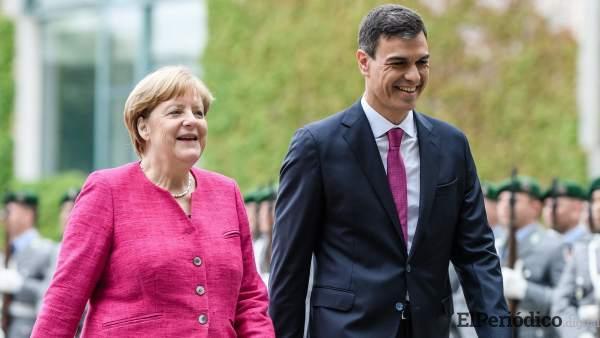 La canciller alemana Angela Merkel, se reunirá este 11 y 12 de agosto con Pedro Sánchez para tratar temas bilaterales Alemania-España