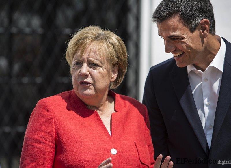 Angela Merkel afirma que inmigrantes ilegales deben ser devueltos a sus países de origen