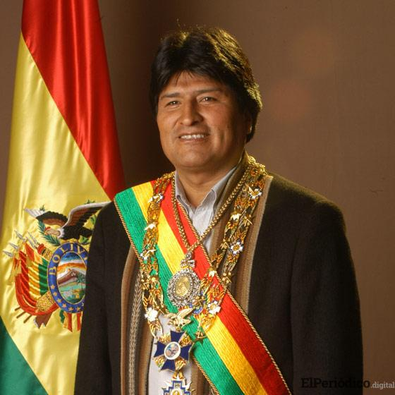 Roban la medalla presidencial de Bolivia