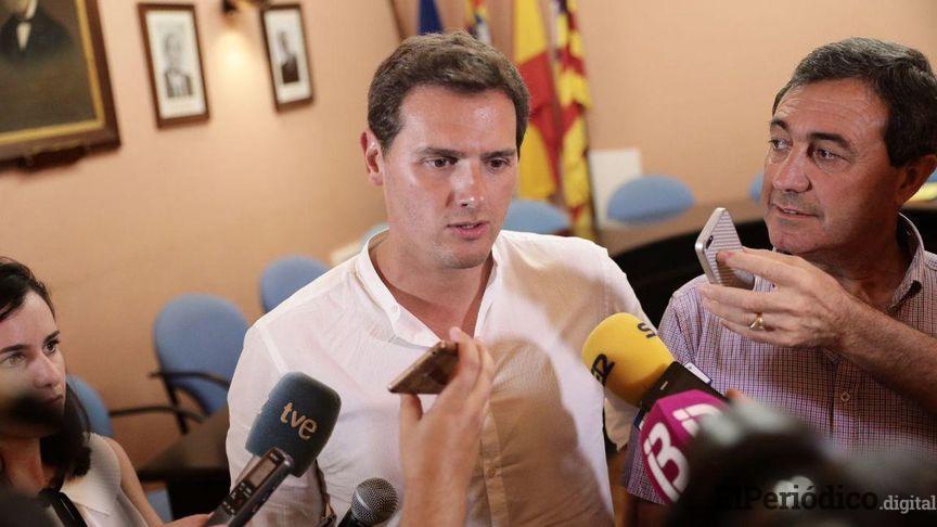 """Albert Rivera: """"Creo que en Cataluña el Estado tiene que estar presente"""""""