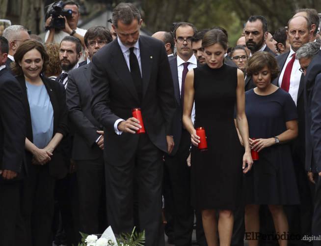 Rey Felipe VI asistirá al homenaje que se les estará efectuando a las víctimas de los atentados de Barcelona y Cambrils.