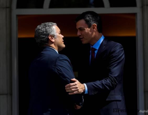 Pedro Sanchez realizará su primera visita a Colombia, España tiene en su agenda colaborar con las negociaciones de paz con el ELN