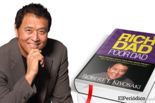 """Robert Kiyosaki, quien es el autor del libro éxito en ventas llamado """"Padre rico, Padre Pobre"""" habló sobre la criptomoneda"""