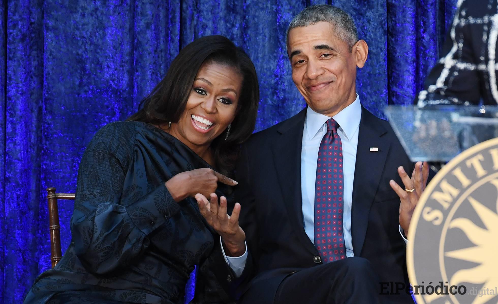 Michelle Obama difunde emotivo mensaje en las redes para felicitar a su esposo