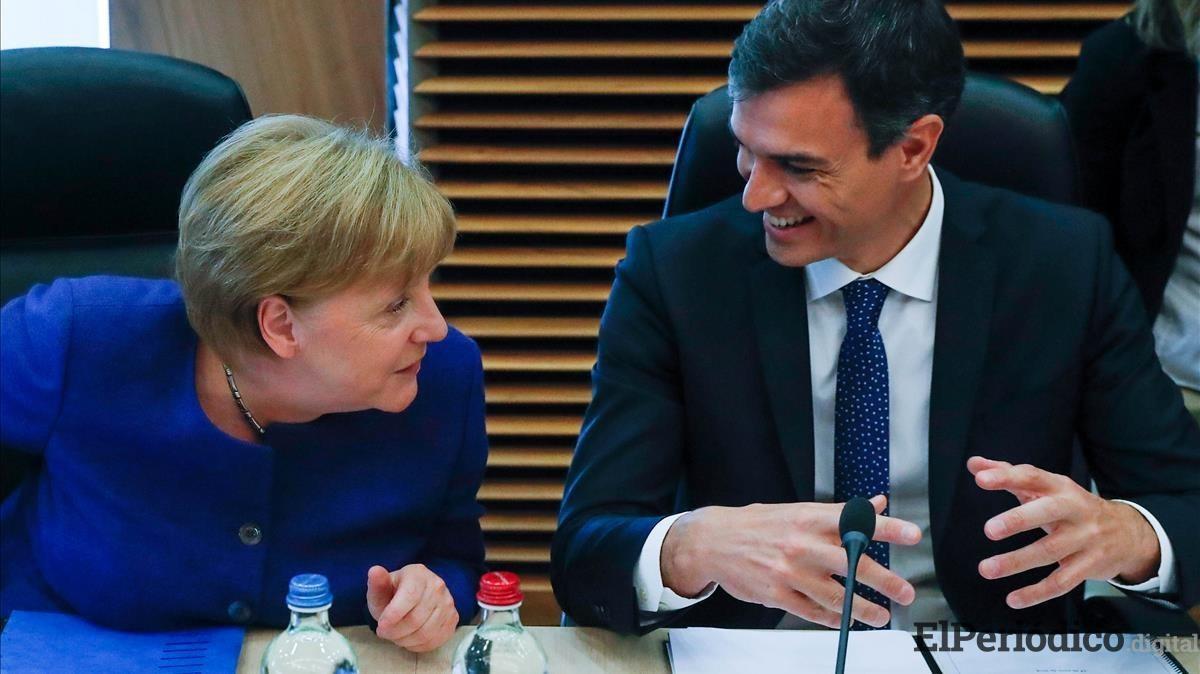 Canciller Angela Merkel se reunirá con Pedro Sánchez en Doñana