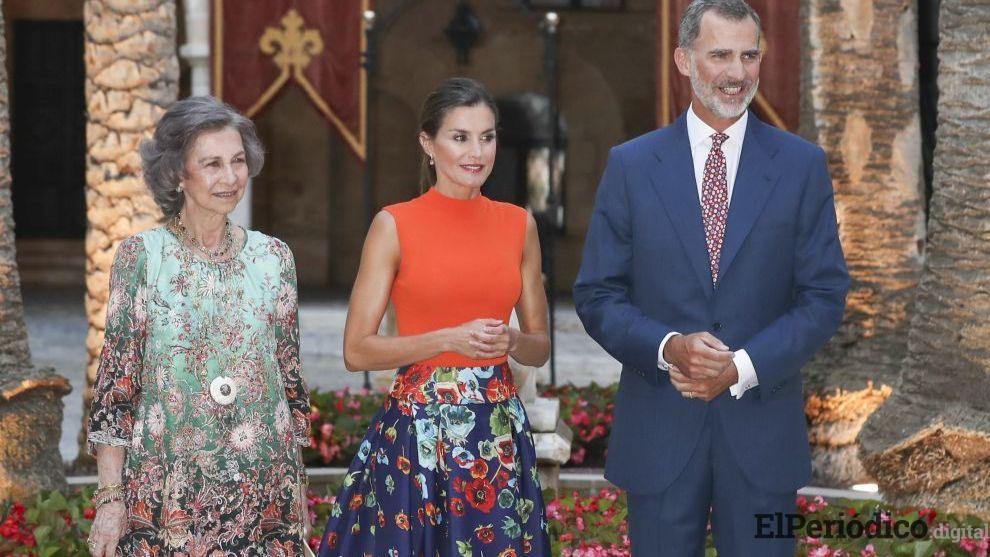 Felipe VI ofrece recepción para la sociedad civil de Baleares en la Almudaina