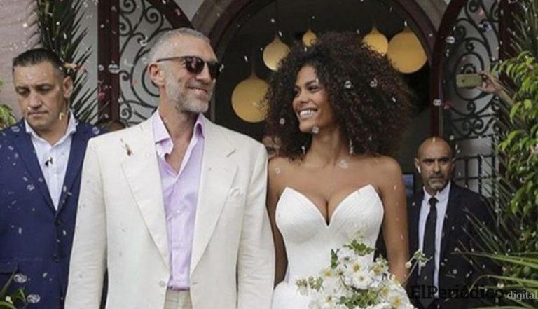 Vincent Cassel se casó con la modelo francesa Tina Kunakey
