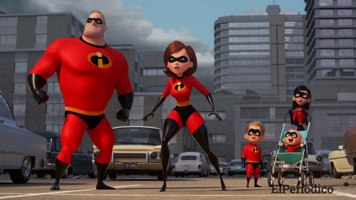 Los increíbles 2 serán puestos en todas las pantallas de los cines de España a partir de este viernes para que toda la familia pueda disfrutar.