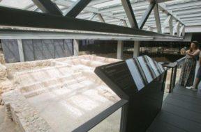 Fallos estructurales amenazan un yacimiento arqueológico en el Museo de L′Almoina en Valencia