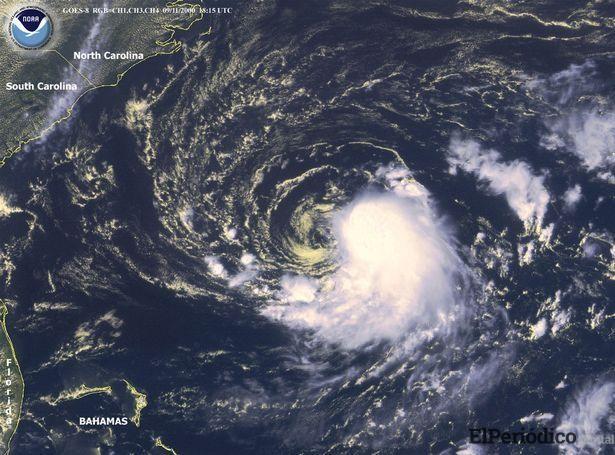Alerta en Estados Unidos por huracán Florence