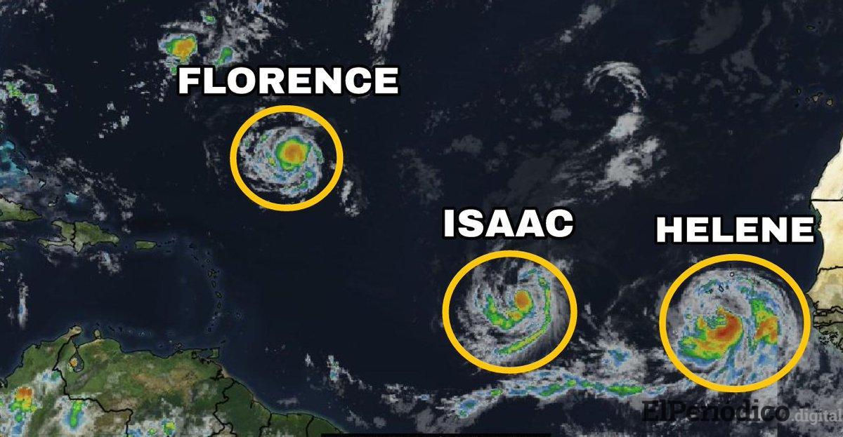 Alerta en Estados Unidos por huracán Florence 1