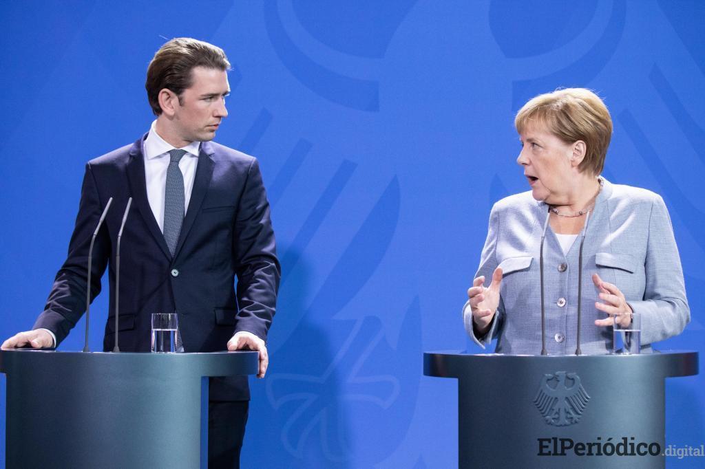 Angel Merkel y Sebastián Kurz, sostuvieron una reunión el pasado 16 de septiembre, con el propósito de regularizar la situación de los inmigrantes.