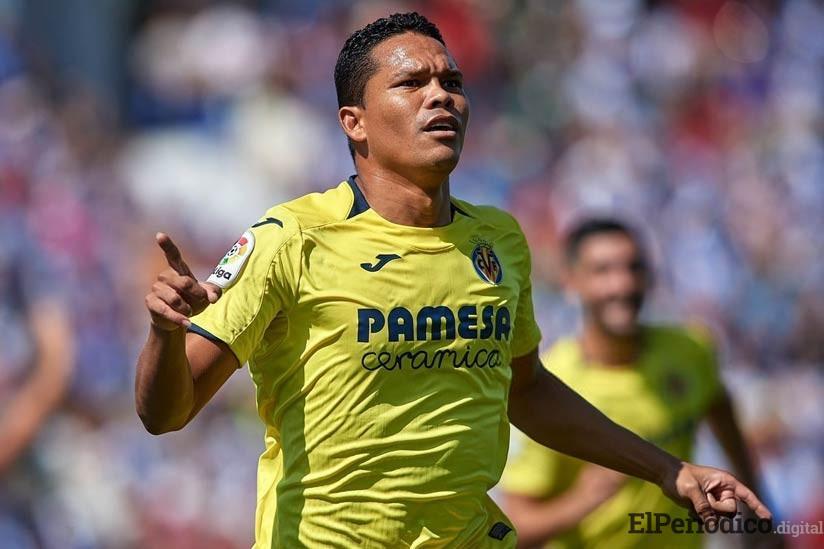 Bacca se encuentra cerca de igualar el récord como máximo goleador colombiano en la primera división del fútbol español, marca que posee Radamel Falcao.