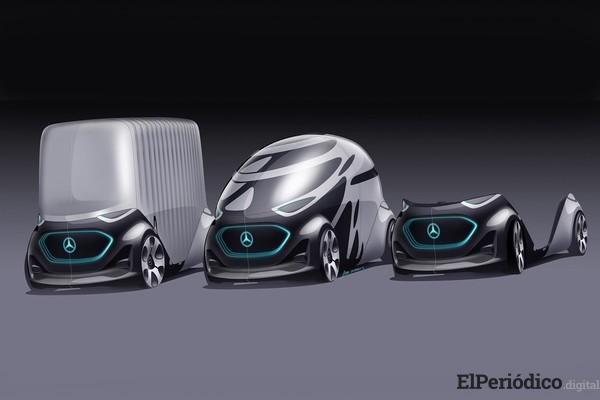 Mercedes-benz presentó su vehículo autónomo del futuro