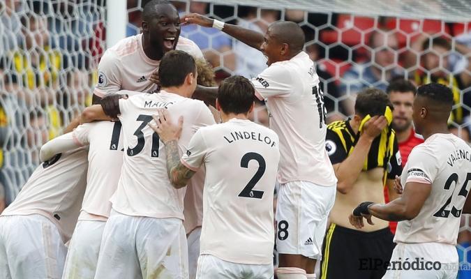 El Manchester United consiguió una importante victoria en su visita al Watford. Los dirigidos por José Mourinho se impusieron por marcador de 1 a 2.
