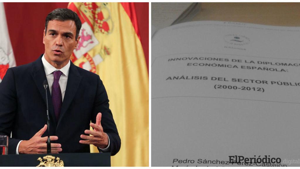 Pedro Sánchez supera la detección de plagio en su tesis doctoral