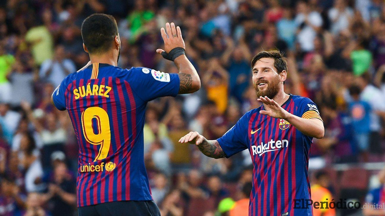 El pasado 2 de septiembre, el FC Barcelona concreto el mejor inicio de su historia en la liga de España durante las primeras tres jornadas