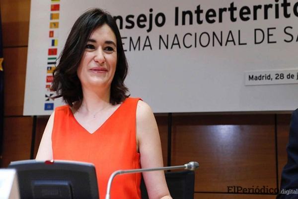 Ministra-España