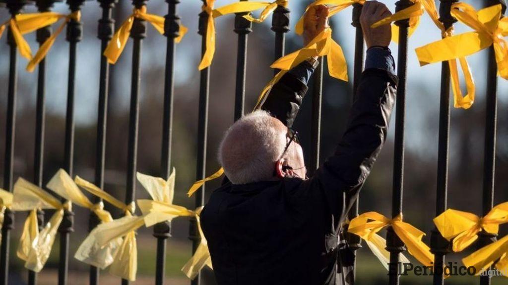 Pablo Casado líder del PP, ha dicho en su discurso este 01 de septiembre,que el estado de crispación que vive las calles de Cataluña comienza a preocupar.