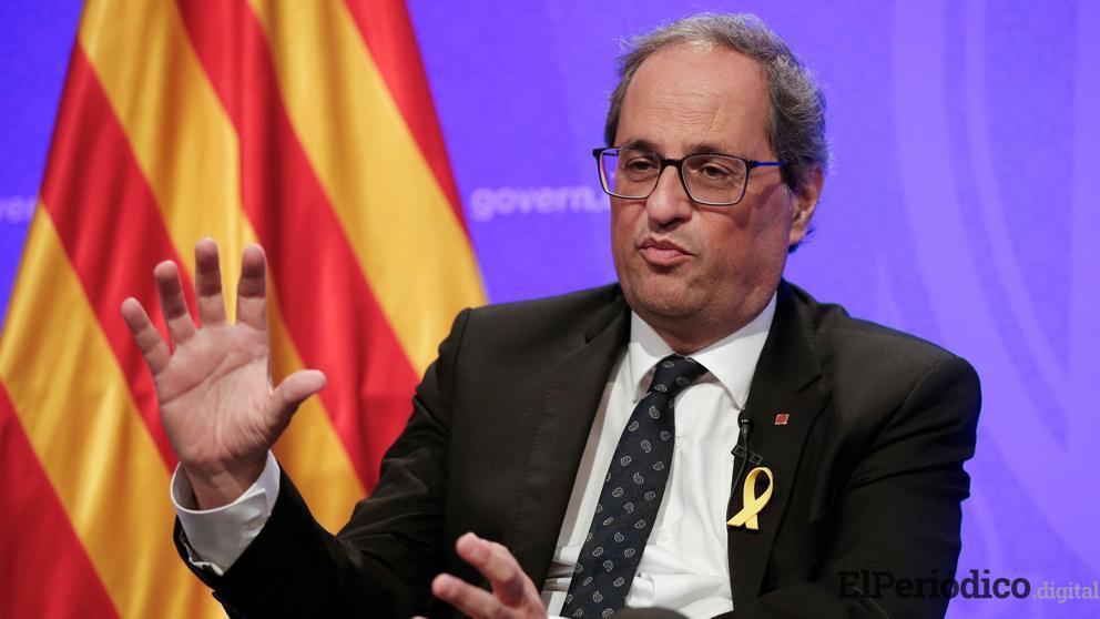 El primer mandatario de Cataluña Kim Torra, solicita al gobierno español, justicia para los presos indepentistas. Alegó que ellos no merecen condena alguna.