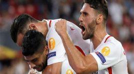 Sevilla goleó a placer al Standard Lieja por Europa League
