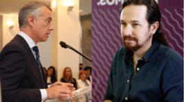 Pablo Iglesias e Iñigo Urkullu se reunirán por primera vez para hablar de los Presupuestos